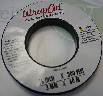 60m (0,33€ / m) WrapCut Cutting / Schneide Tape für Car Wrapping Wrap Cut Tape