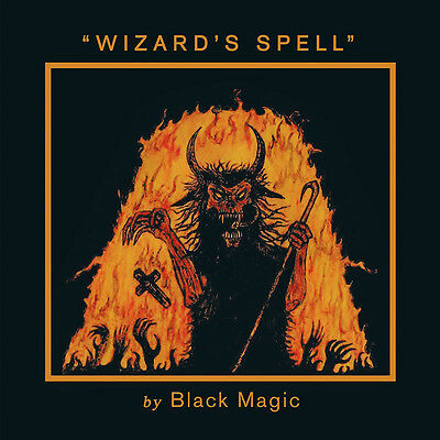 BLACK MAGIC - Wizard's Spell  LP  ULTRA CLEAR