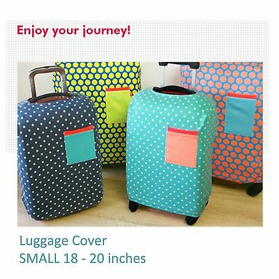 "18-20"" SMALL Elastic Luggage Suitcase Cover Protection Protector Covers Travel"