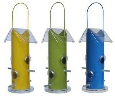 Supa Rutland Wild Bird Seed Contemporary Design Tube Feeder 25.5cm