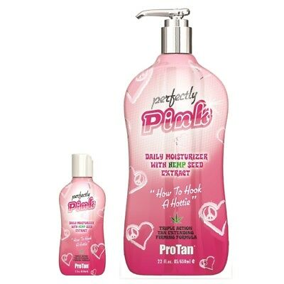 Pro Tan PERFECTLY PINK Moisturiser after tanning lotion