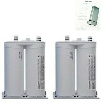 Genuine Electrolux Pure Source EWF01 Fridge Water Filter EWF01, FC300 - 2 Pack