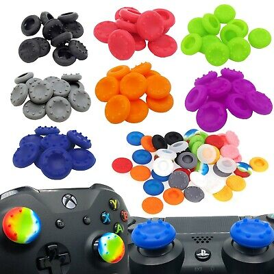 Rubber Thumb Stick Cover Grip Caps For Sony PS3 PS4 + XBOX 360 One Controller