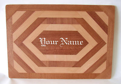 PERSONALISED  A3 DRAWING BOARD - Hand-crafted wood