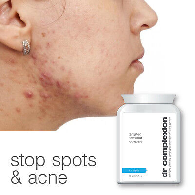 Dr Complexion Targeted Breakout Corrector Acne Pills Max Fast Treatment Spot