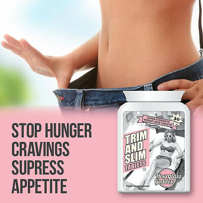 Hourglass Goddess Trim And Slim Tablet Stop Hunger Cravings Supress Appetite
