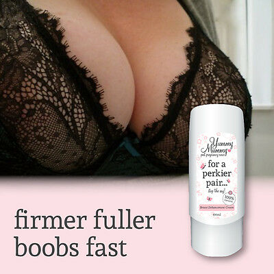 Yummy Mummy Pregnancy Breast Cream Enhancement Lifts Tones Firms Plumps Boobs