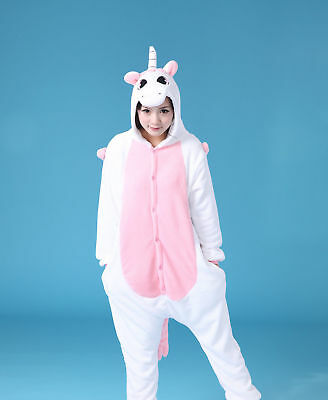 Pigiama kigurumi intero tuta carnevale feste donna animali unicorn party