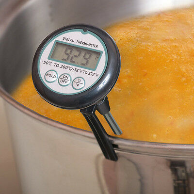 Digital Meat BBQ Food Thermometer , Liquid Candy Deep Fry Thermometer New