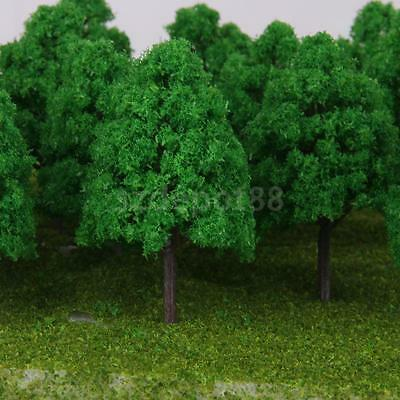 25 Model Trees N Scale Model Train Railroad Architecture Diorama Scene 1:150