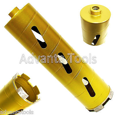 "1-1/4"" Dry Diamond Core Drill Bit for Soft Brick Concrete Block 5/8""-11 Threads"