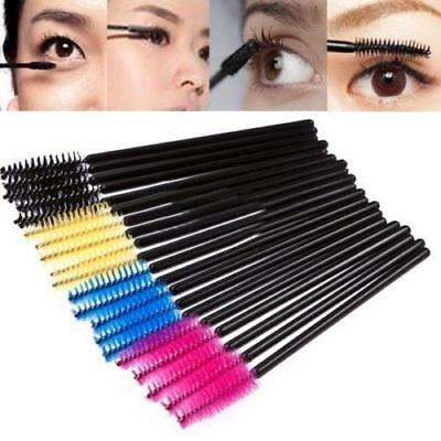 50Pcs Disposable Mascara Wands Brush Lash Eyelash Extension Applicator Makeup