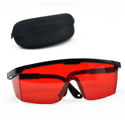Protection Goggles Laser Safety Glasses Red Blue With Velvet Box ~N