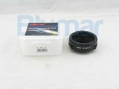 Kipon Auto Focus AF Adapter for Canon EOS EF Lens to Micro 4/3 mount MFT OM-D G6