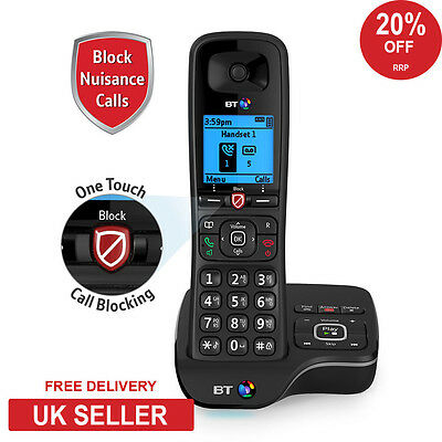 BT 6600 Single Advance Nuisance Call Blocker Cordless Home Phone