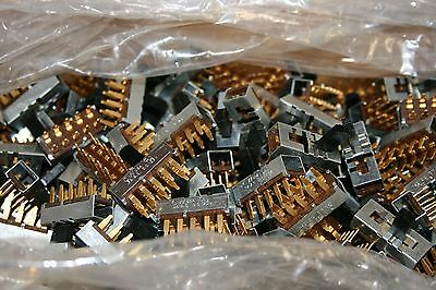 1000 pcs. Slide Switch--4 Position(ON-ON-ON-ON)--120V@0.5A--PC Mount