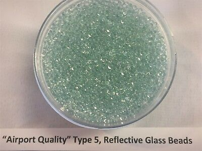 Airport Quality Reflective Glass Beads 2 pounds