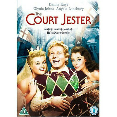 The Court Jester NEW PAL Classic DVD Danny Kaye