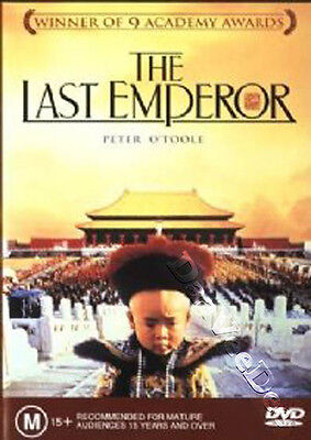 The Last Emperor NEW PAL Arthouse DVD Peter O'Toole