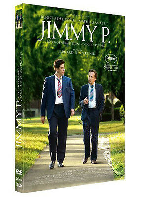 Jimmy P. NEW PAL Arthouse DVD Arnaud Desplechin B. Del Toro M. Amalric France