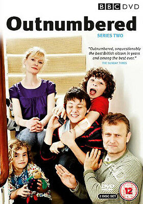 Outnumbered - Series 2 NEW PAL Cult 2-DVD Set Skinner