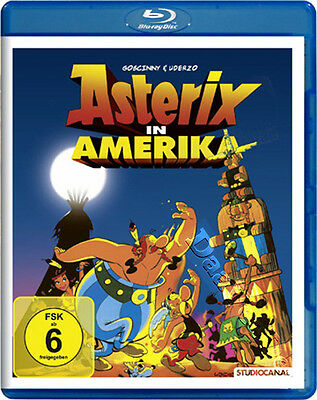 Asterix in America NEW Kids Family Blu-Ray Disc Gerhard Hahn Roger Carel