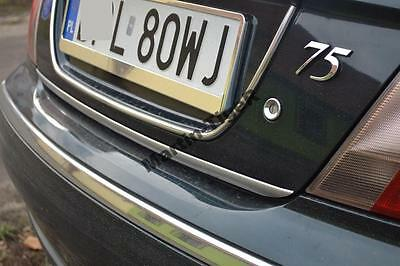 ROVER 75 Saloon RJ 99-05 - CHROME Rear Trim Strip Trunk Tuning Tailgate 3M New!