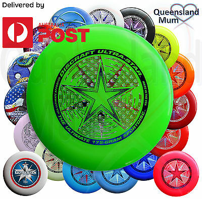 Discraft Ultra-Star 175 Gram Sport Disc Frisbee Ultimate Championship New 175g