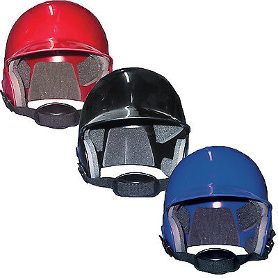 Champro Baseball Helmet With Strap - Black / Red / Royal - Sizes S - Xl