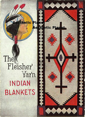 Indian Blanket Catalog  - 4.5 by 6 inches - Facsimile