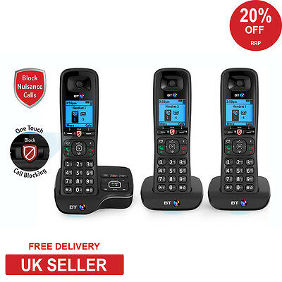 BT 6600 Trio Advance Nuisance Call Blocker Cordless Home Phone