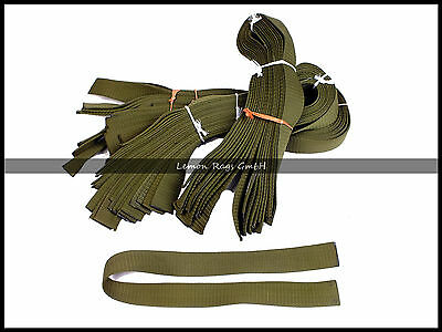 Sangle Militaire - Ruban - Bande PVC - Lot de 10 PCS