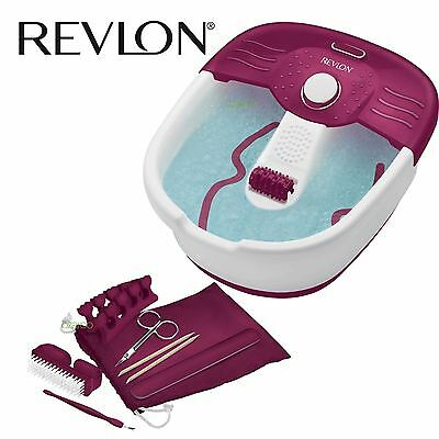 New Womens Revlon Pediprep Foot Spa Nail Care Pedicure Grooming Kit RVFB7021PUK