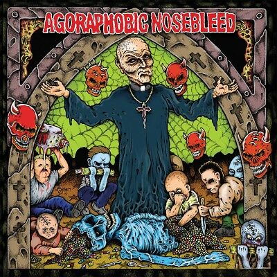 AGORAPHOBIC NOSEBLEED - Altered States of America  LP  BABY PINK