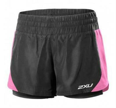 2XU Pace Compression Shorts Women's Small Pink/Black