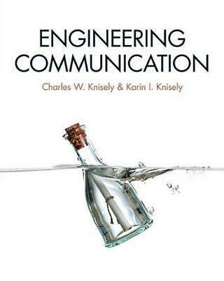 Engineering Communication by Charles W. Knisely (English) Paperback Book Free Sh