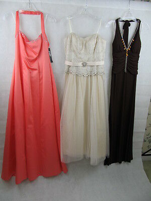 New Long Prom Dresses Size 5, 5/6, 7/8, 9/10, 3XL, 2X, L Lot Wholesale 24 Dress