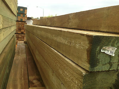 Treated Pine Fence Posts H4 125x75 2.4m lengths only Post Fence