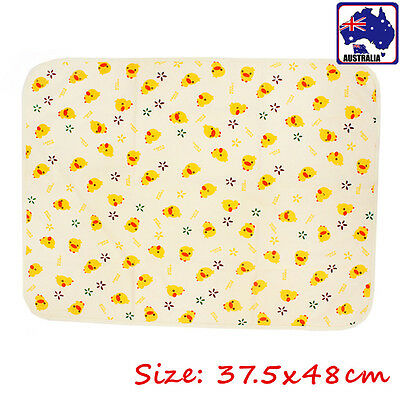 Baby Infant Urinal Pad Cover Mat 37.5x48cm Waterproof Reusable Diaper BBIBS 4074