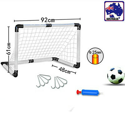 Kids Junior Soccer Goal Football Practice Ball Pump Net Training Set GBFOT 2830