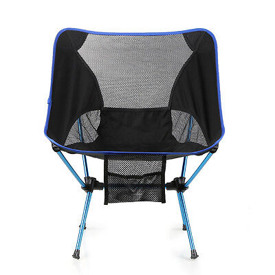 Portable Outdoor Fishing Camping Folding Chair Lightweight Aluminum Alloy Chair