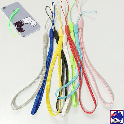 50pcs Hand Rope Lanyard Cord Wrist Strap For Digital Camera Phone USB SCARD 69