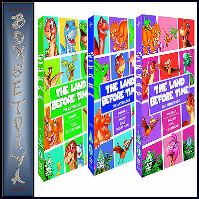 The Land Before Time-The Complete Anthology Volumes 1 2 & 3 *Brand New Dvd ***