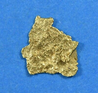 Alaskan-Yukon BC Natural Gold Nugget 0.14 Grams Genuine From Special Lot