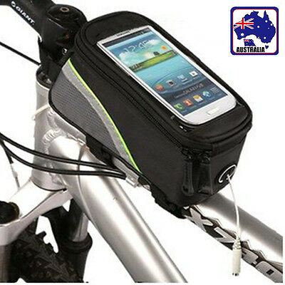 Cycling Pouch Bike Bicycle iPhone Holder Pannier Mobile Phone Case OBIKE 0887