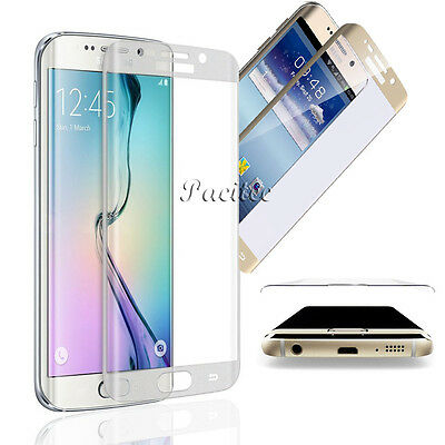 FULL COVER TEMPERED GLASS SCREEN PROTECTOR FOR SAMSUNG GALAXY S6 Edge & Plus