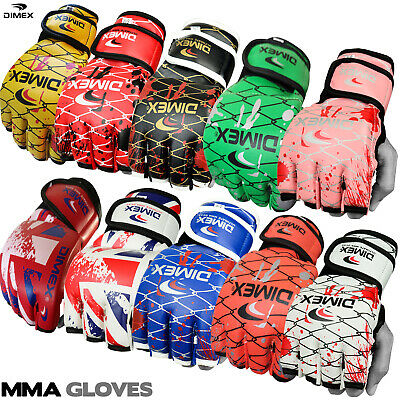 Dimex Grappling MMA Gloves UFC Boxing Punch Bag Fight Muay Thai Training 5 Color