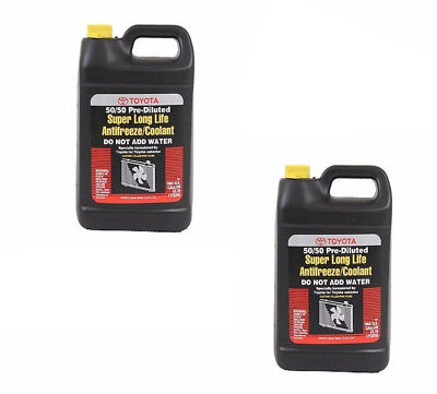 2 Gallons for Lexus Toyota Genuine Pink Engine Coolant/Antifreeze Long Life