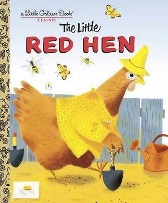 The Little Red Hen by J.P. Miller (English) Hardcover Book Free Shipping!