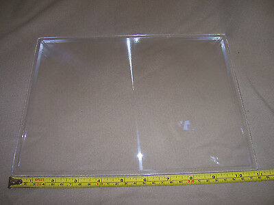 "FRESNEL LENS 2000 degree solar oven furnace 8""X11"" rectangl flat plastic optical"